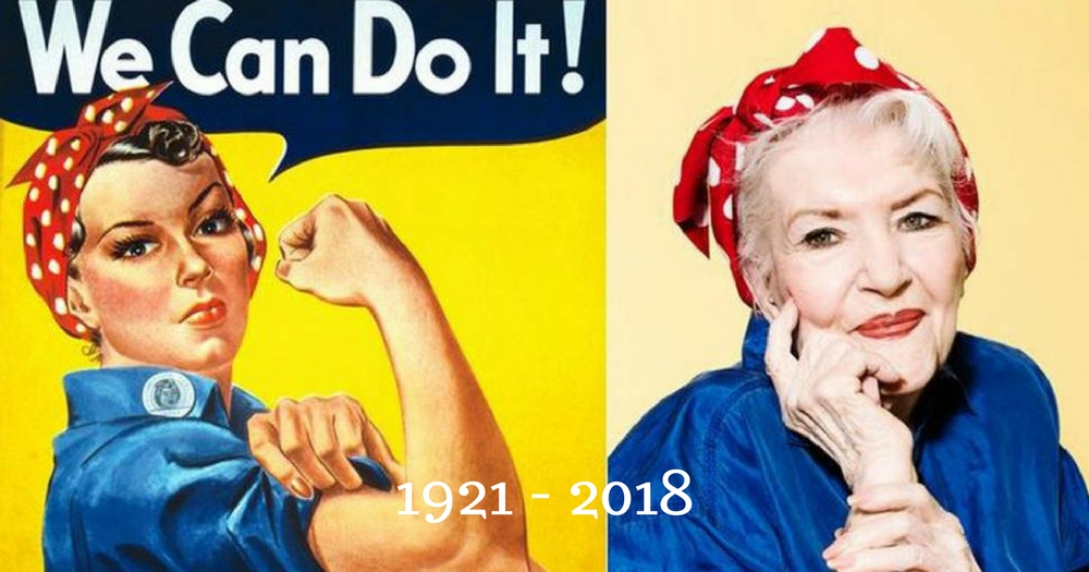 Naomi Parker Fraley, The 'Real' Rosie The Riveter, Dies At 96