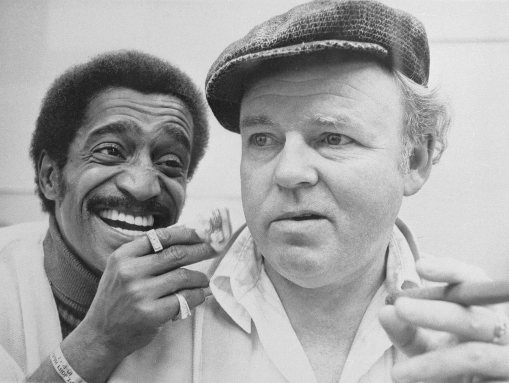 Sammy Davis And Archie Bunker All In The Family
