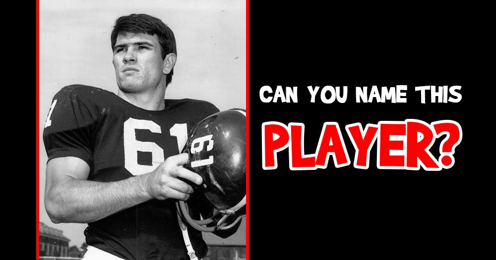 Can You Name this Handsome Football Player?