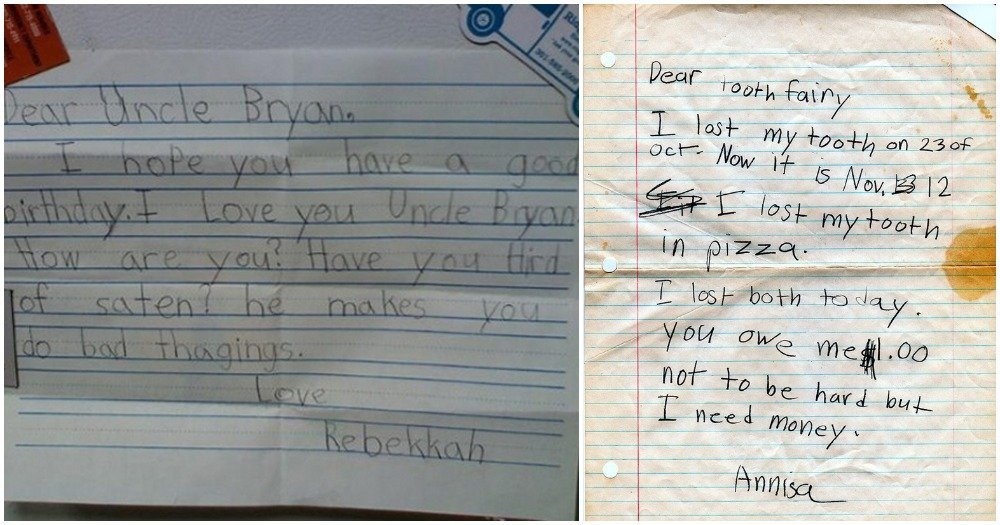 22 Hilarious Notes By Kids That Will Have You Laughing Out Loud