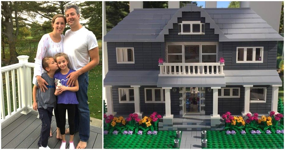 This Woman Will Build An Exact LEGO Replica Of Your Home.