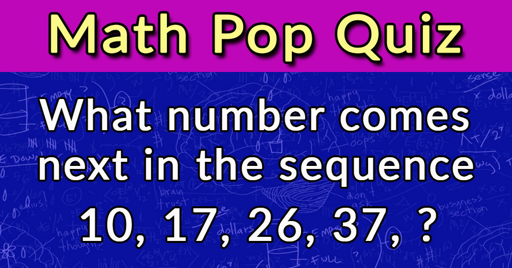 Can You Answer These 3 Math Questions?