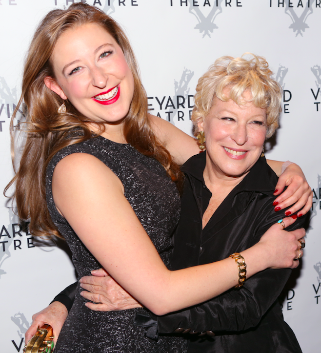 sophie von haselberg looks just like famous mom bette midler