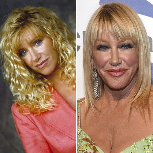 Suzanne Somers of TV show Step by Step 'Then and Now'