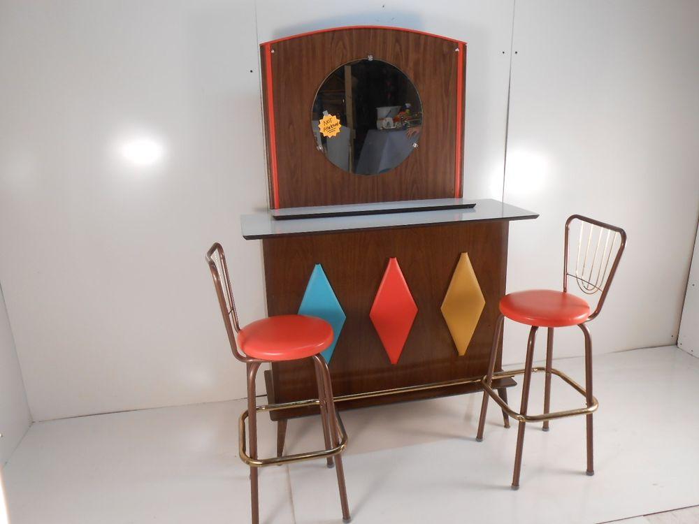 Ten Ultra Cool Mid Century Household Cocktail Mini Bars