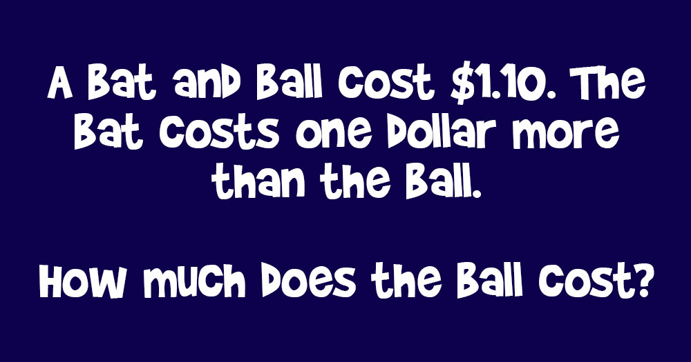 How Much Does the Baseball Cost?