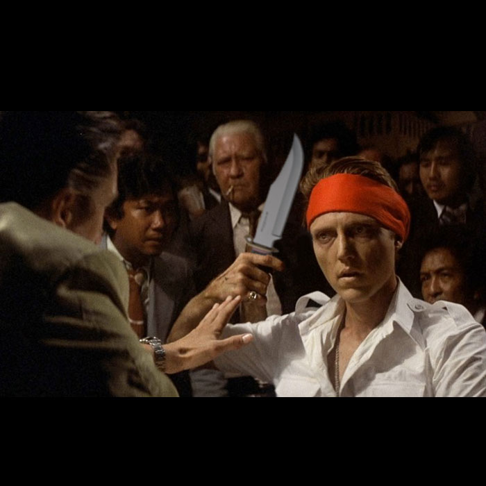 find the error in this the deer hunter movie scene do you remember