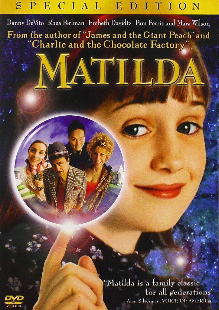 Matilda Special Edition DVD Cover