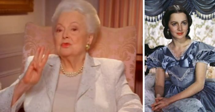 Olivia de Havilland is the oldest living cast member from Gone with the Wind