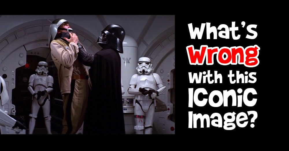 What's Wrong with this Iconic Movie Scene from Star Wars?