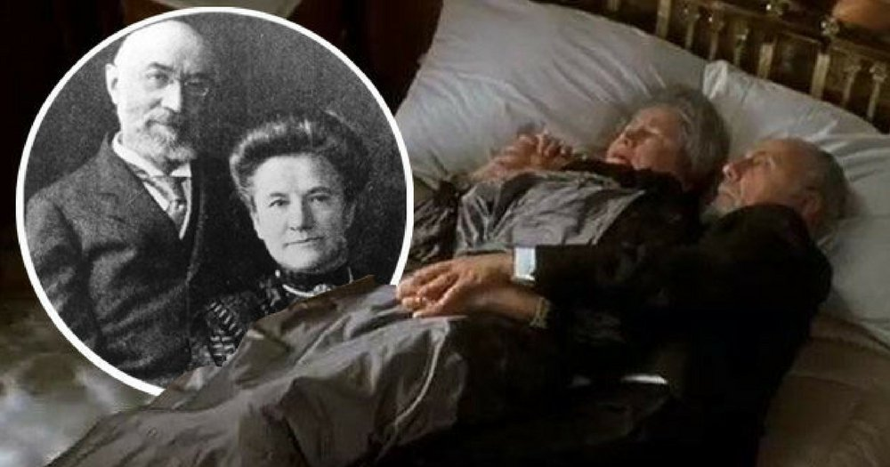 The Couple Who Died Hugging On Bed In 'Titanic' Is Based On A Real Couple.