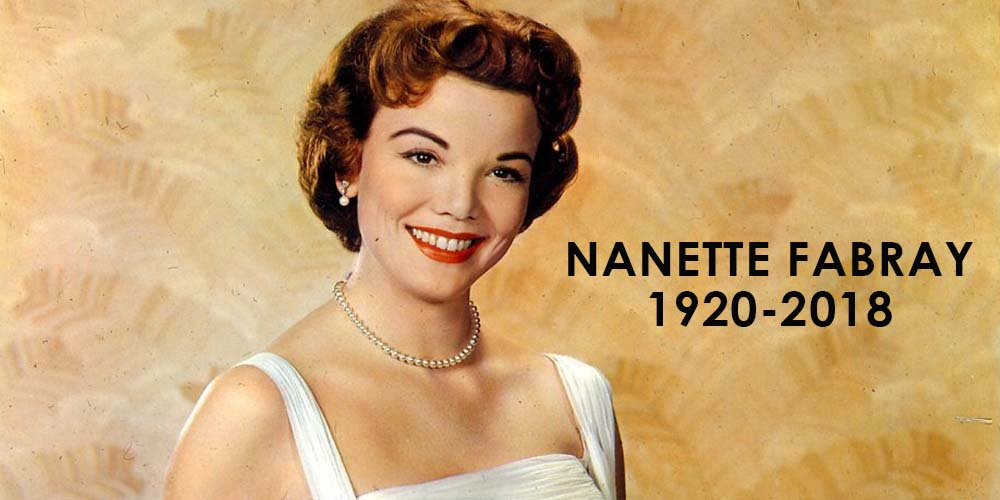 Actress Nanette Fabray, TV Moms Of 'The Mary Tyler Moore Show' And 'One Day At A Time,' Dies At 97