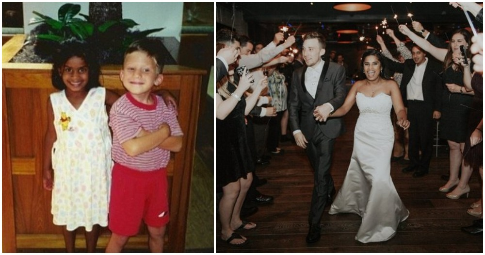 In Preschool, He Told His Class He Would Marry Her And 20 Years Later, He Did.