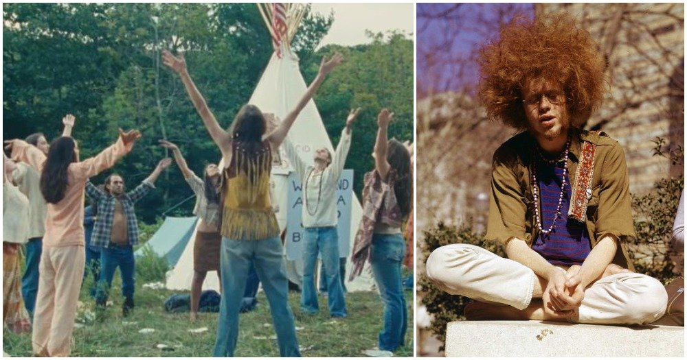 18 Pictures of Hippies From The 60s That Prove That They Were Really Far Out