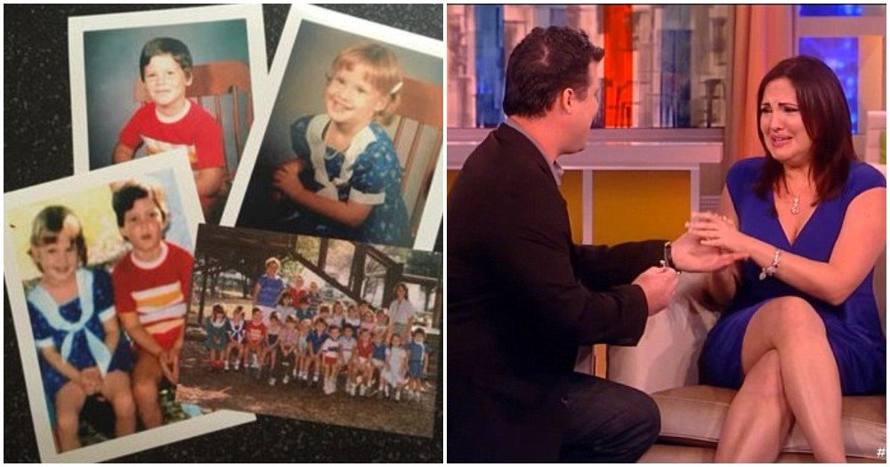Couple Who Met Online Discover They Were Preschool Sweethearts 30 Years Ago