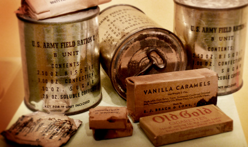 world war 2 US army rations
