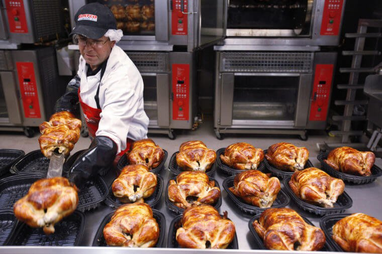 Costco's Rotisserie Chicken