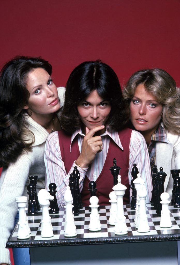 Charlies Angles Leading Ladies Cast Photo from 1976