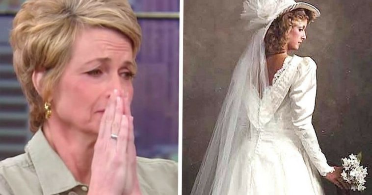 Mom Pes Down Vintage Wedding Dress From 1986 Then Daughter Reveals Its Transformation Do You Remember