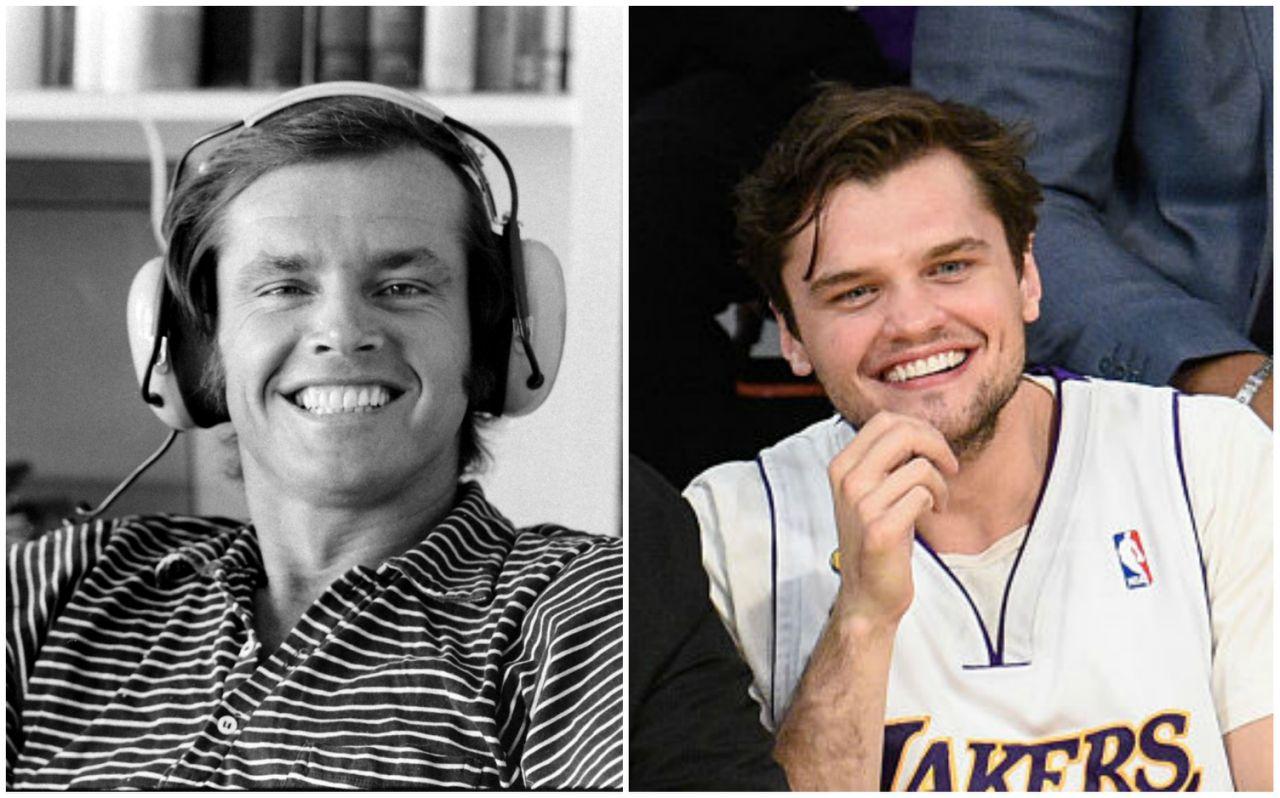 Jack Nicholson S Son Looks Identical To Him When He Was Young Doyouremember Foto publicada em 19 de setembro de 2006 |copyright tfm distribution personalidades jack nicholson, leonardo dicaprio, ray winstone. doyouremember