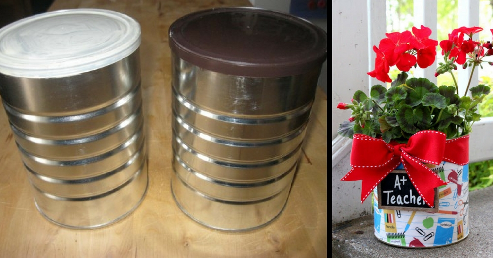 Start Saving Your Old Coffee Containers – Here Are 14 Ways To Reuse Them Around The House.
