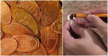 facts about pressed pennies