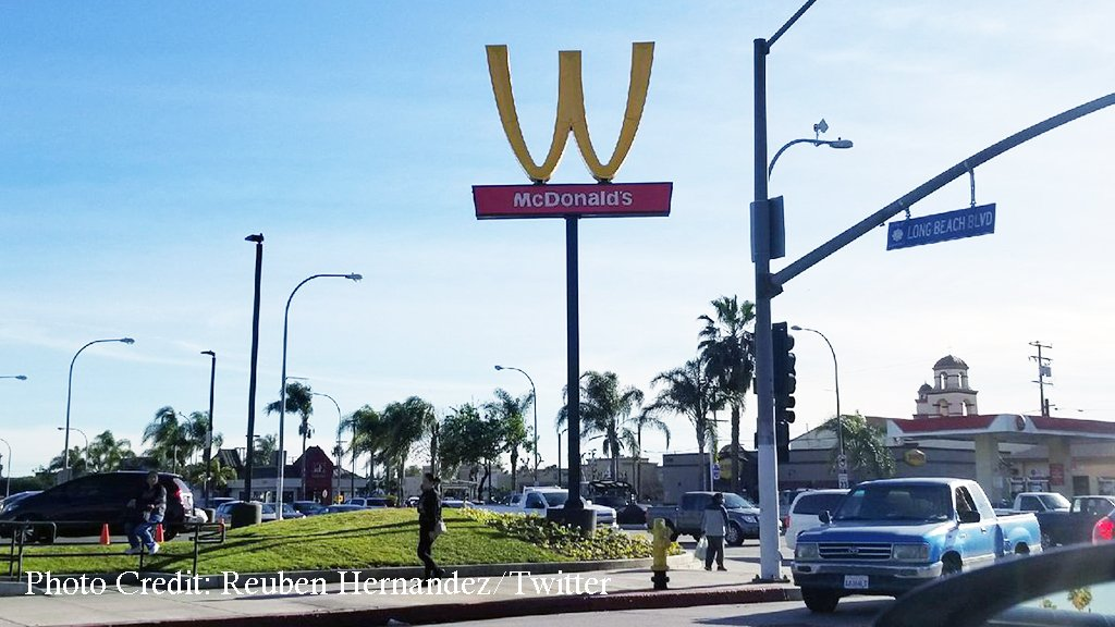 McDonald's Is Turning Its Iconic Golden Arches Upside Down ...