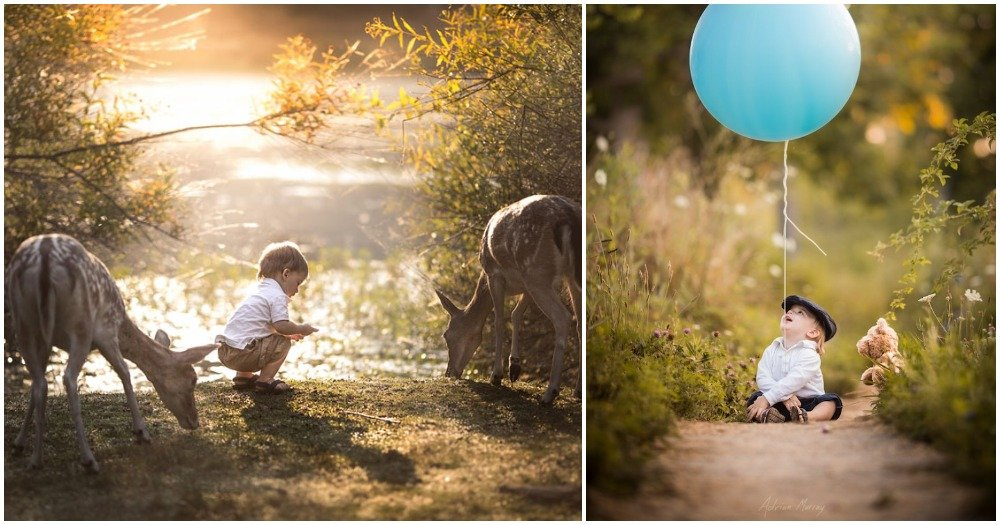 His Son Almost Died One Night, So He Made A Choice. These Stunning Photos Are The Result