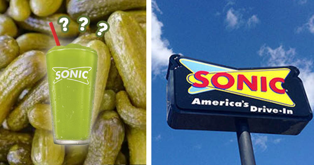 Sonic Drive In Announces It Will Be Selling Pickle Juice Slushes This Summer