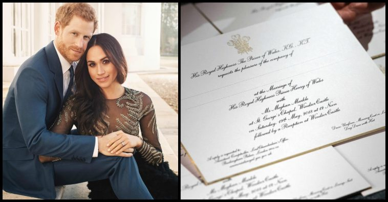 wedding invitations 758x396 - Royal Wedding 19th May