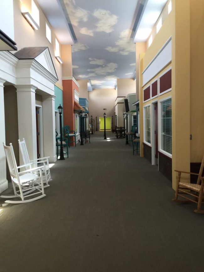 Nursing Home Is Designed To Look Like A Familiar 1940s