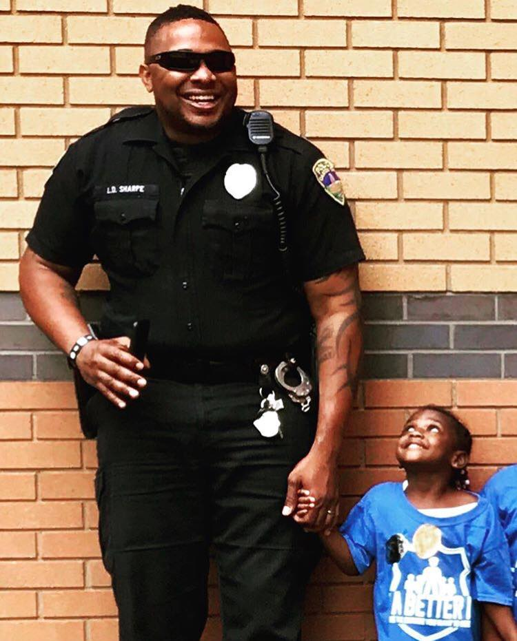 Happy Police Officer