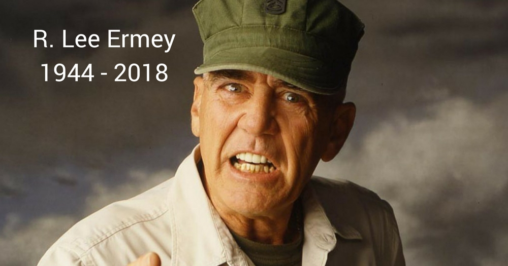 R Lee Ermey Quotes R. Lee Ermey, Golden G...