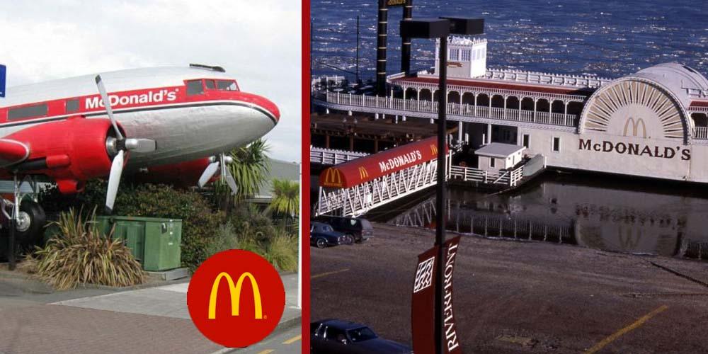 Extraordinary McDonald's Restaurants Around The World