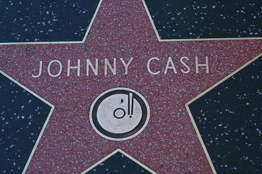 johnny cash star