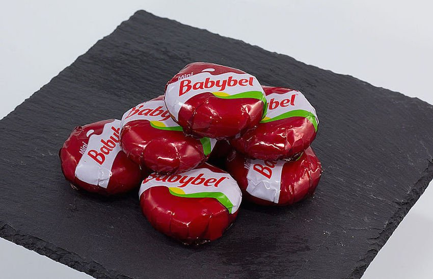 DIY Babybel Cheese Wax Is The Ultimate Artistic Medium. If you didn't make stuff out of that alluring red wax during elementary school lunch, you must have been a monster.