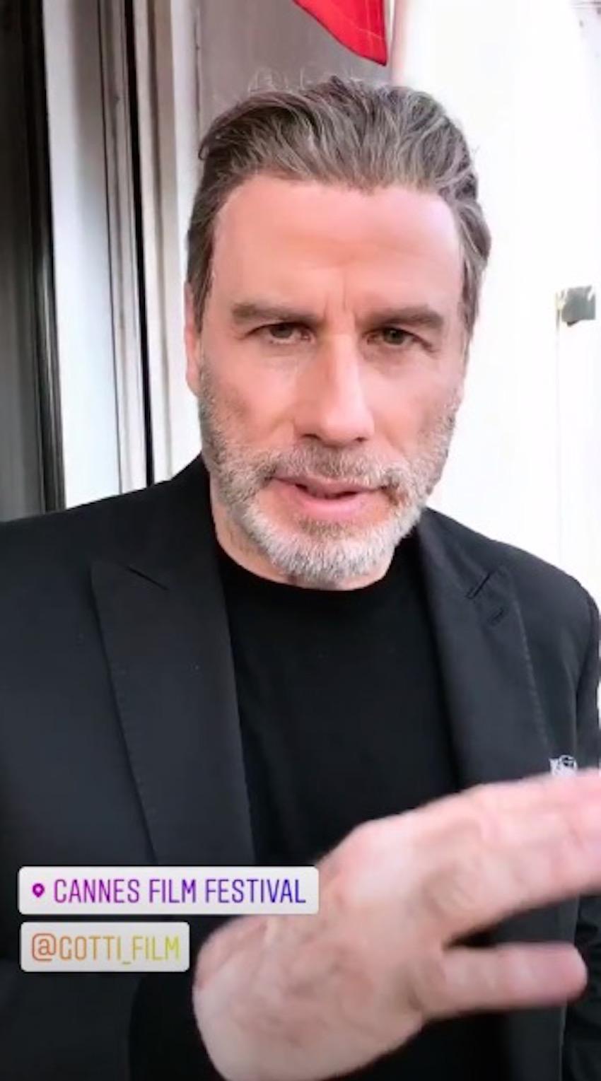 john travolta instagram
