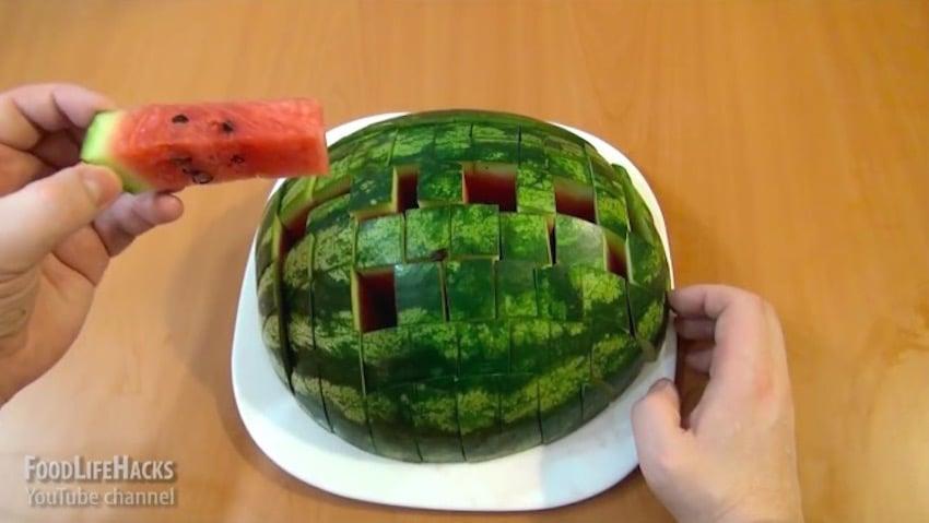 enjoy watermelon