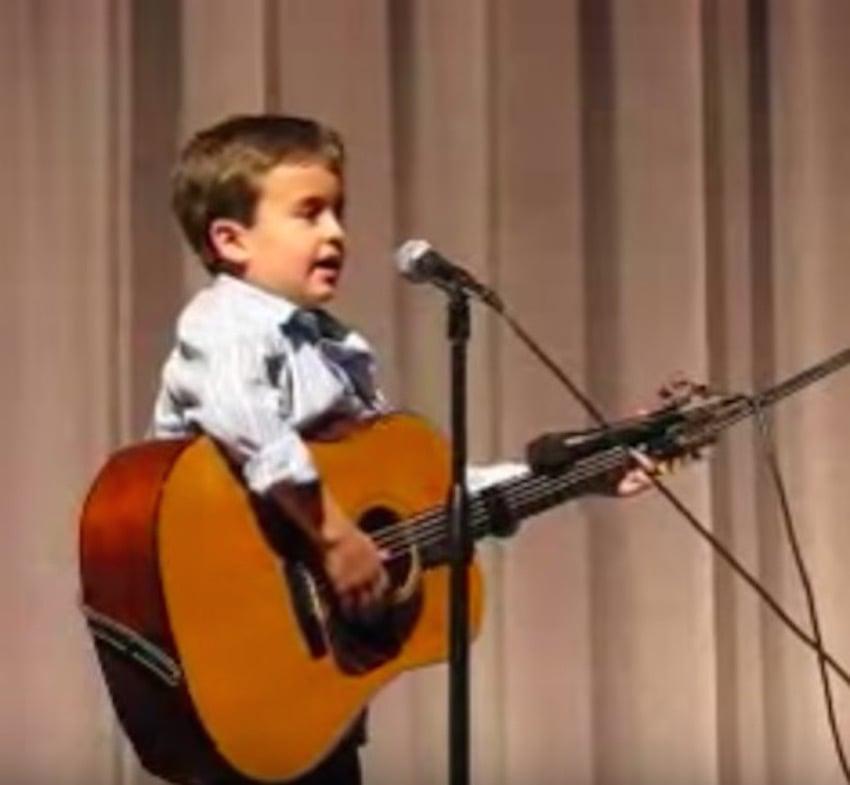 kid singer