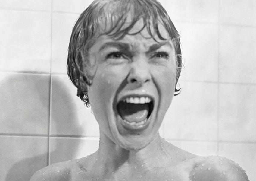 shower scene in psycho