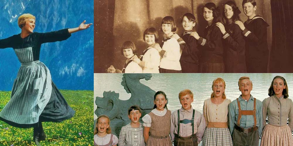 The Real Story Behind The Sound Of Music's Von Trapp Family