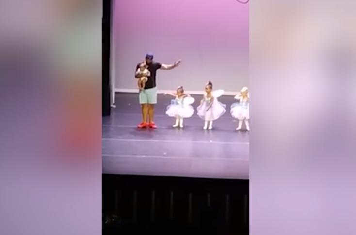 dad ballet dancing