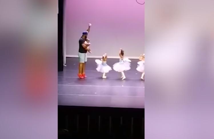 dad dancing ballet