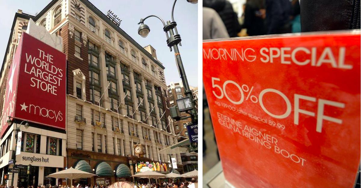 10 Money-Saving Secrets That Every Macy's Shopper Needs To Know