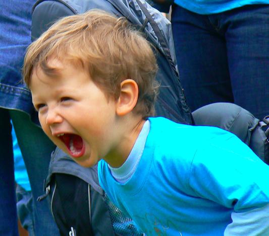 screaming kid
