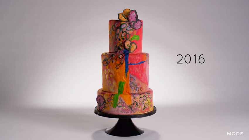 2016 crayola colors cake