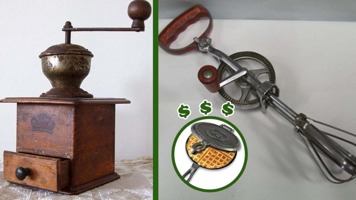 6 Vintage Kitchen Items That Are Worth