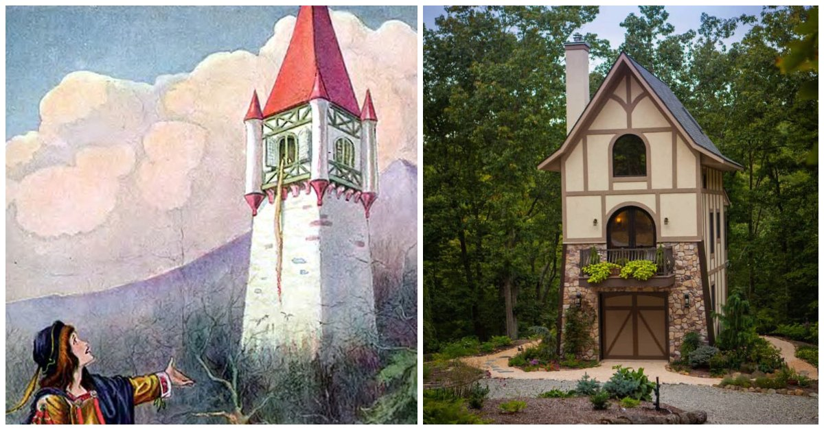 You Can Buy A Tiny House That Looks Exactly Like Rapunzel