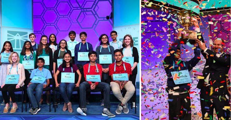 scripps national spelling bee contestants