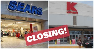 sears kmart closing